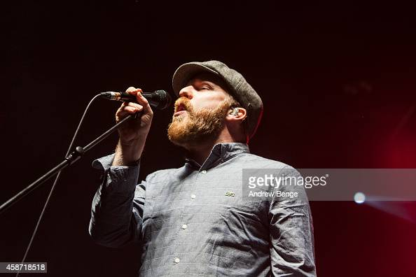 Alex Clare performs on stage at The Ritz Manchester on November 9 2014 in Manchester United Kingdom