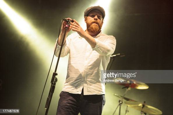 Alex Clare performs on stage on Day 1 of Leeds Festival 2013 at Bramham Park on August 23 2013 in Leeds England