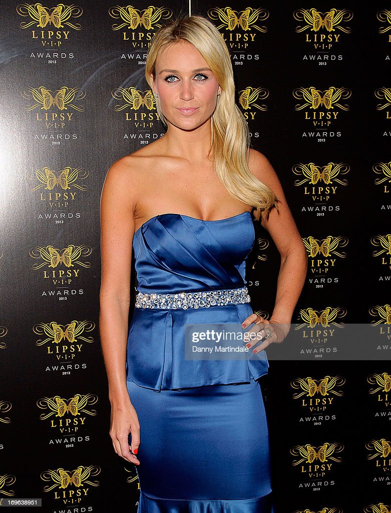 Alex Curran Gerrard attends the Lipsy VIP Fashion Awards 2013 at Dstrkt on May 29, 2013 in London, England.