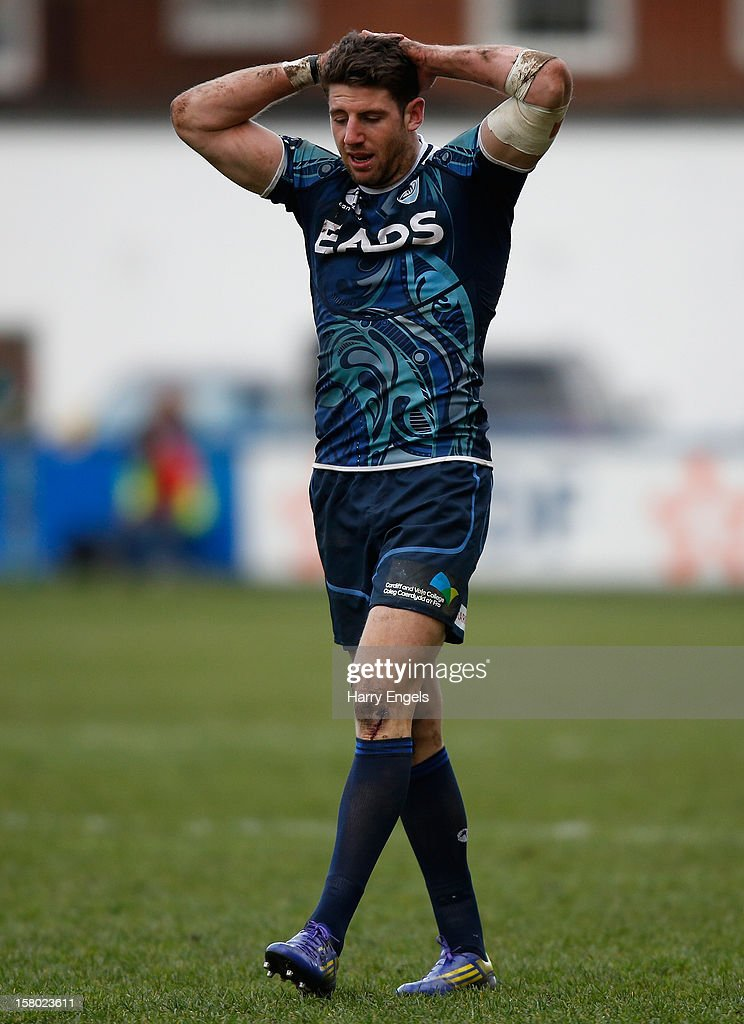 <a gi-track='captionPersonalityLinkClicked' href=/galleries/search?phrase=Alex+Cuthbert&family=editorial&specificpeople=6143846 ng-click='$event.stopPropagation()'>Alex Cuthbert</a> of Cardiff Blues in action during the Heineken Cup match between Cardiff Blues and Montpellier at Cardiff Arms Park on December 9, 2012 in Cardiff, Wales.