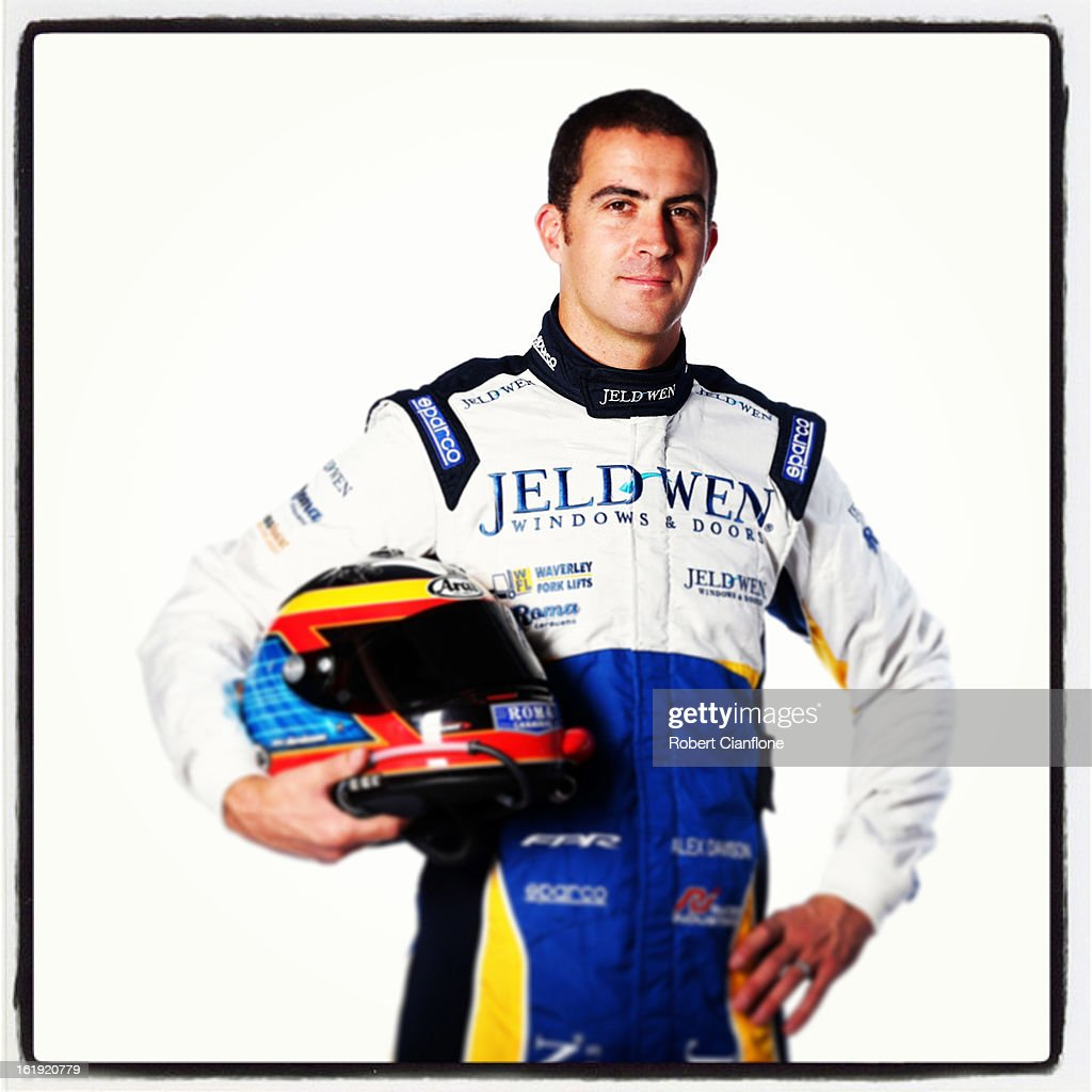 Alex Davison of Team Jeld-Wen poses during a V8 Supercars driver portrait session at Eastern Creek on February 15, 2013 in Sydney, Australia.