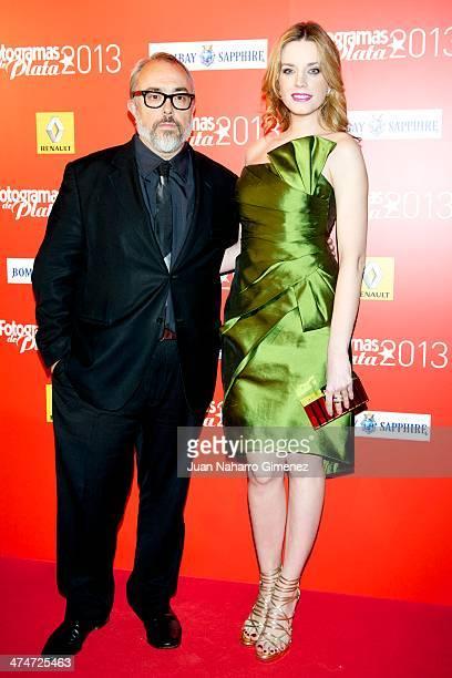 Alex de la Iglesia and Carolina Bang attend 'Fotogramas Awards' 2013 at Teatro Joy Eslava on February 24 2014 in Madrid Spain