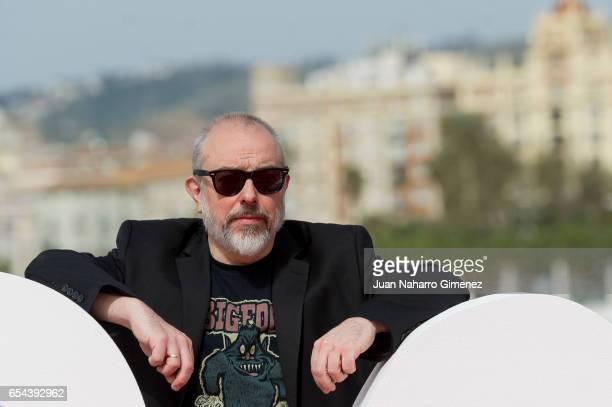 Alex de la Iglesia attends 'El Bar' photocall at Muelle Uno on March 17 2017 in Malaga Spain