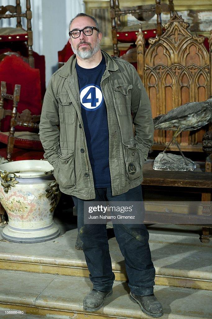 Alex de la Iglesia attends 'Las Brujas de Zugarramurdi' on set filming at Palacio del Infante Don Luis on November 23, 2012 in Madrid, Spain.