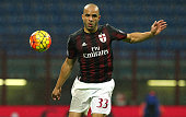 Alex Dias da Costa of AC Milan in action during the Serie A match between AC Milan and AC Chievo Verona at Stadio Giuseppe Meazza on October 28 2015...