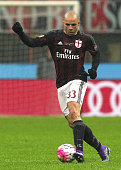Alex Dias da Costa of AC Milan in action during the Serie A match between AC Milan and Torino FC at Stadio Giuseppe Meazza on February 27 2016 in...