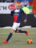 Alex Dias Da Costa of PSG in action during the french Ligue 1 match between FC Lorient and Paris SaintGermain FC at Stade du Moustoir on March 21...