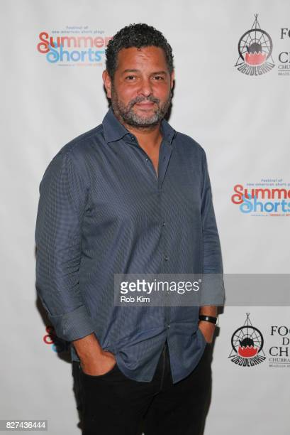 Alex Dinelaris attends the OffBroadway opening night party for 'SUMMER SHORTS 2017' at Fogo de Chao Churrascaria on August 7 2017 in New York City