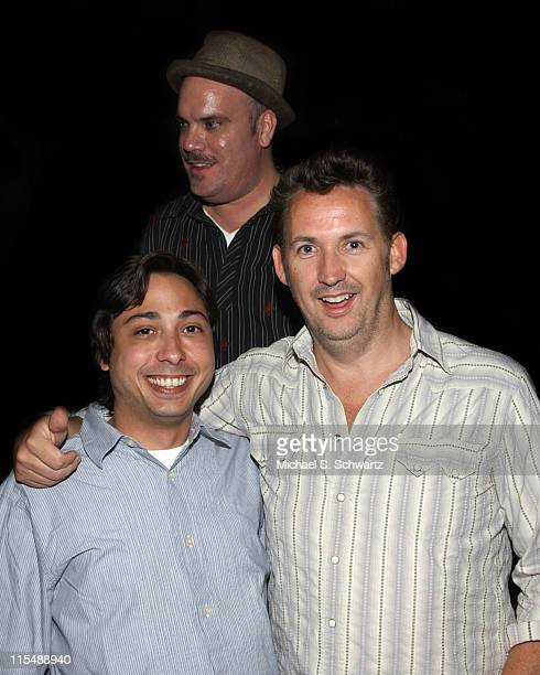 Alex Dominguez Gene Pompa and Harland Williams during Collegehumorcom Presents Comedy Juice Starring Harland Williams at The Hollywood Improv in Los...