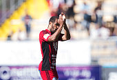 Alex Dyer of Ostersunds FK during the allsvenskan match between Ostersunds FK and Jonkopings Sodra IF at Jamtkraft Arena on July 10 2016 in Ostersund...