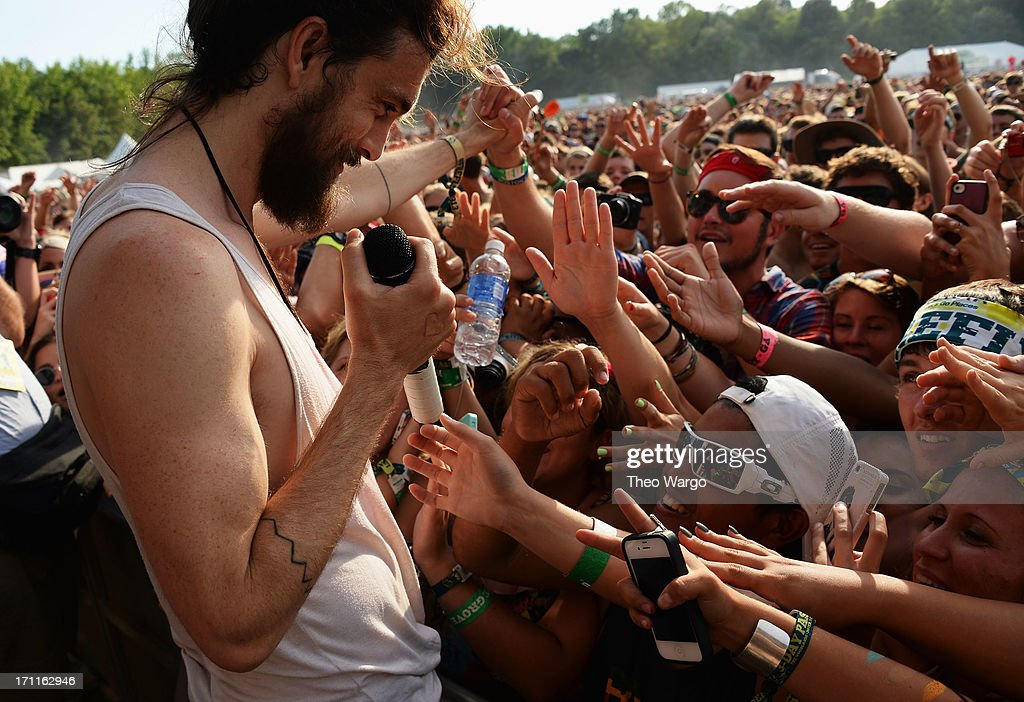 <a gi-track='captionPersonalityLinkClicked' href=/galleries/search?phrase=Alex+Ebert&family=editorial&specificpeople=2544755 ng-click='$event.stopPropagation()'>Alex Ebert</a> of the band Edward Sharpe and the Magnetic Zeros performs onstage at the Firefly Music Festival at The Woodlands of Dover International Speedway on June 22, 2013 in Dover, Delaware.