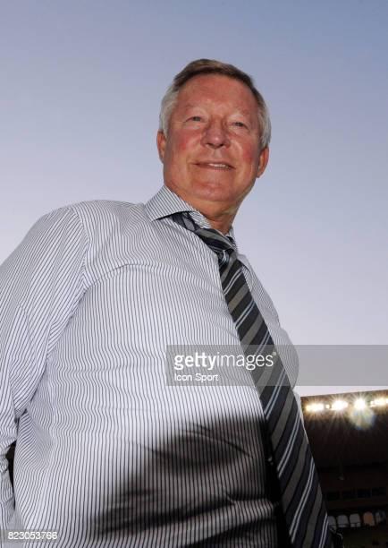 Alex FERGUSON match de football Marseille / Manchester United au profit de l'association caritative de Pascal Olmeta 'Un sourire un espoir pour la...