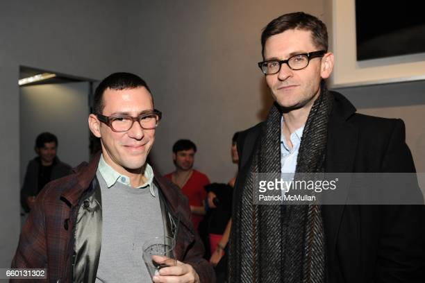 Alex Galan and Mark Holgate attend ROGER PADILHA MAURICIO PADILHA Celebrate Their Rizzoli Publication THE STEPHEN SPROUSE BOOK Hosted by DEBBIE HARRY...