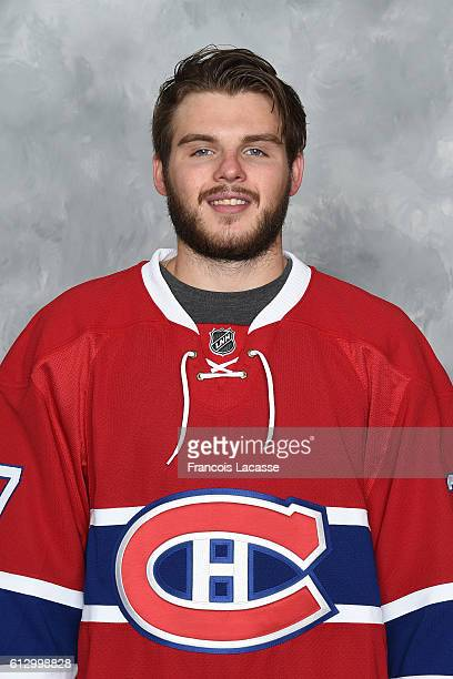 Alex Galchenyuk of the Montreal Canadiens poses for his official headshot for the 20162017 season on September 22 2016 at the Bell Sports Complex in...