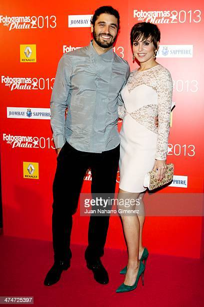 Alex Garcia and Veronica Echegui attend 'Fotogramas Awards' 2013 at Teatro Joy Eslava on February 24 2014 in Madrid Spain