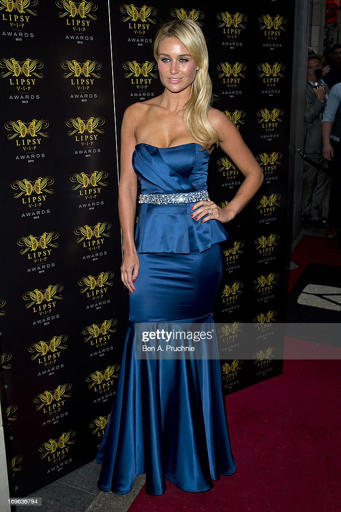 Alex Gerrard attends the Lipsy VIP Fashion Awards 2013 at Dstrkt on May 29, 2013 in London, England.