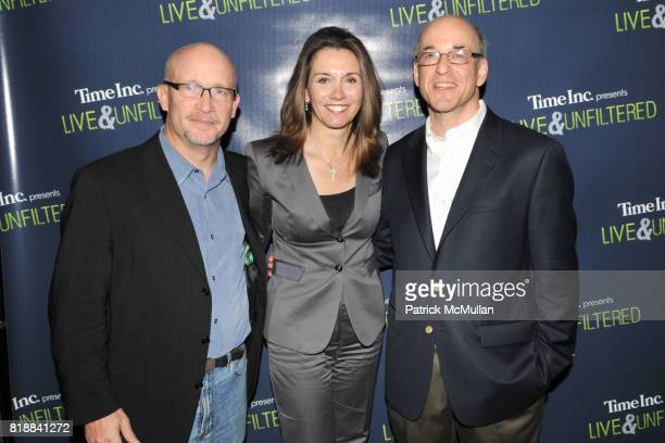 Alex Gibney Stephanie George and Peter Elkind attend TIME INC Live and Unfiltered Presents ROUGH JUSTICE Hosted by FORTUNE at Time and Life Building...