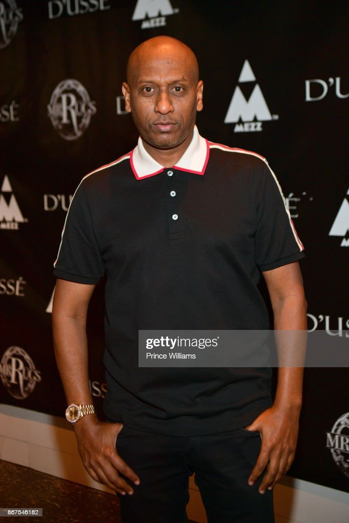 Alex Gidewon Attends Mr Rugsu0027 All Black Affair At Gold Room On October 27,