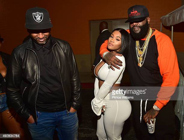 Alex Gidewon Lira Galore and Rick Ross attend BET Hip Hop Awards Grand Finale Hosted By Rick RossDiddyTrey Songz at The Mansion Elan on October 11...