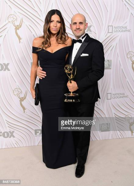 Alex Gitler and Galit Gitler attend FOX Broadcasting Company Twentieth Century Fox Television FX And National Geographic 69th Primetime Emmy Awards...