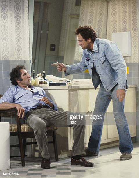TAXI 'Alex Goes Off the Wagon' Episode 3 Aired Pictured Judd Hirsch as Alex Reiger Christopher Lloyd as Reverend Jim Ignatowski Photo by Ron Tom/NBCU...