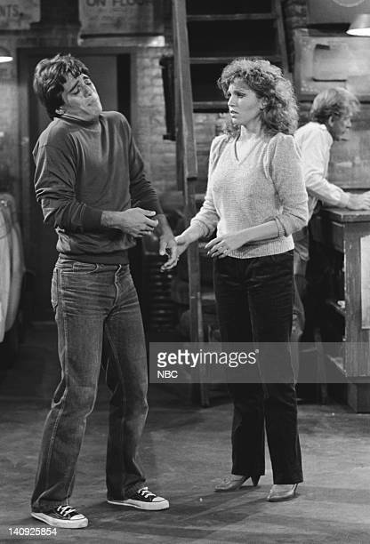 TAXI 'Alex Goes Off the Wagon' Episode 3 Aired Pictured Tony Danza as Tony Banta Marilu Henner as Elaine O'ConnorNardo Photo by Ron Tom/NBCU Photo...