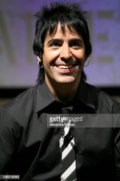 Alex Gonzalez of Mana during Mana Celebrates the Release of Their New CD 'Amar Es Combatir' August 21 2006 at Museum of Television and Radio in...