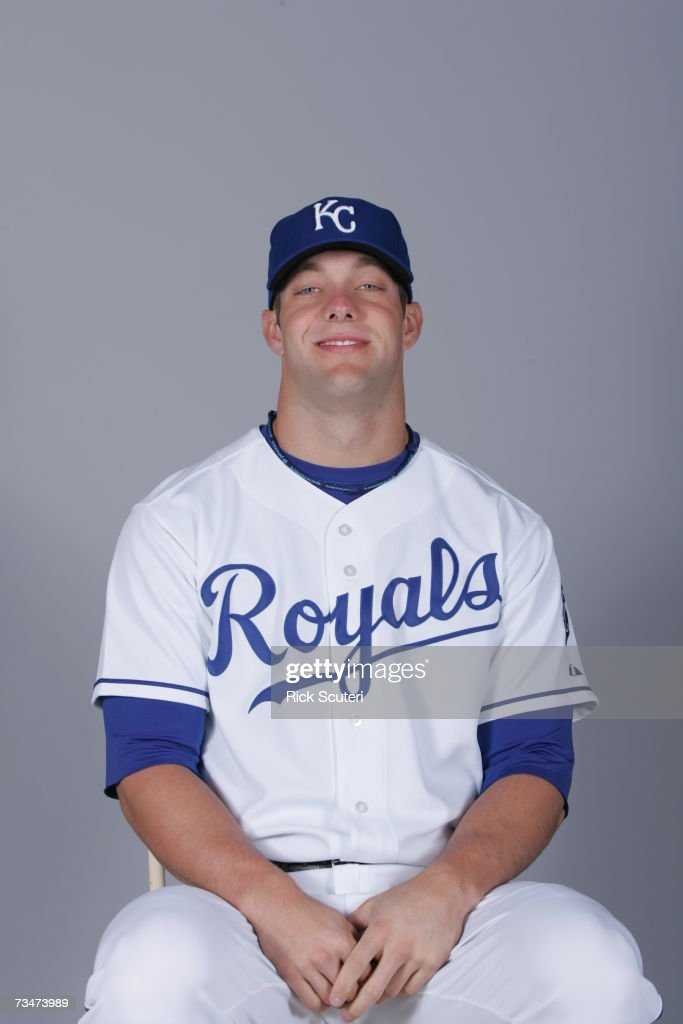 Alex Gordon of the Kansas City Royals poses during photo day at Surprise Stadium on February 25, 2007 in Surprise, Arizona.