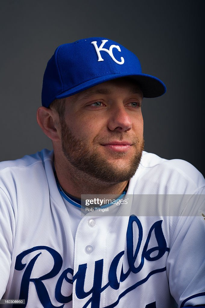 <a gi-track='captionPersonalityLinkClicked' href=/galleries/search?phrase=Alex+Gordon+-+Baseball+Player&family=editorial&specificpeople=4494252 ng-click='$event.stopPropagation()'>Alex Gordon</a> #4 of the Kansas City Royals poses for a portrait on photo day at the Surprise Sports Complex on February 21, 2013 in Surprise, Arizona.