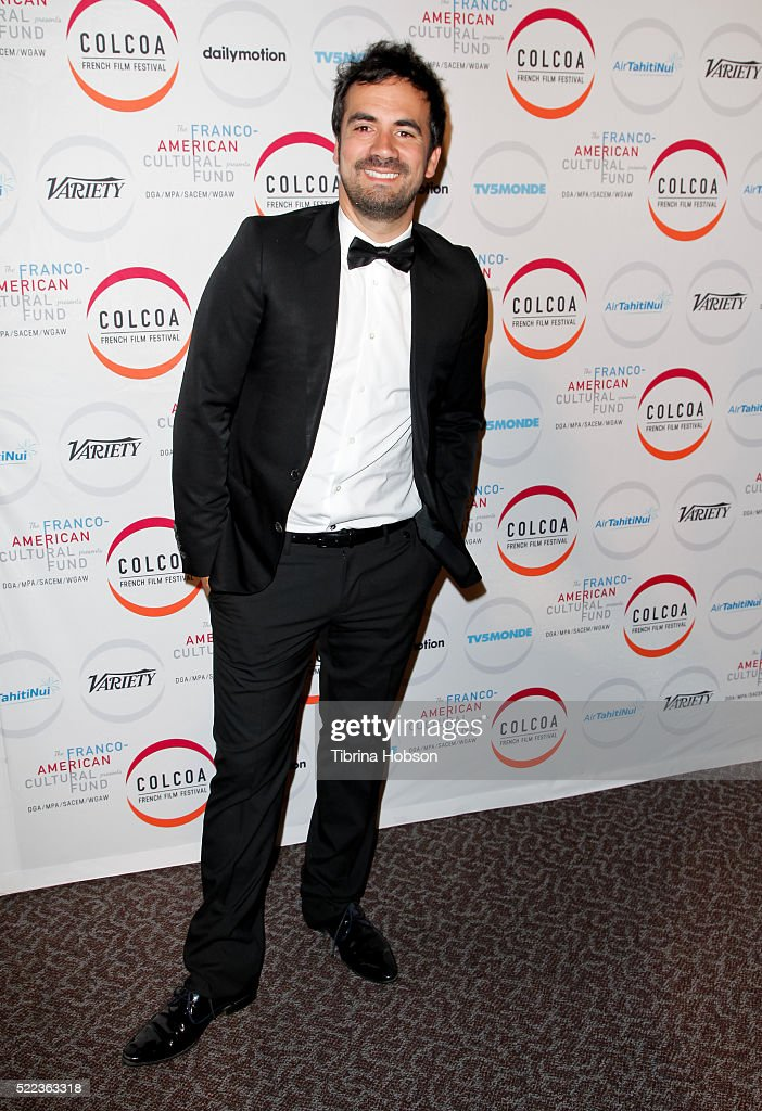 Alex Goude attends opening night of the 20th annual COLCOA French Film Festival at Directors Guild of America on April 18, 2016 in Los Angeles, California.