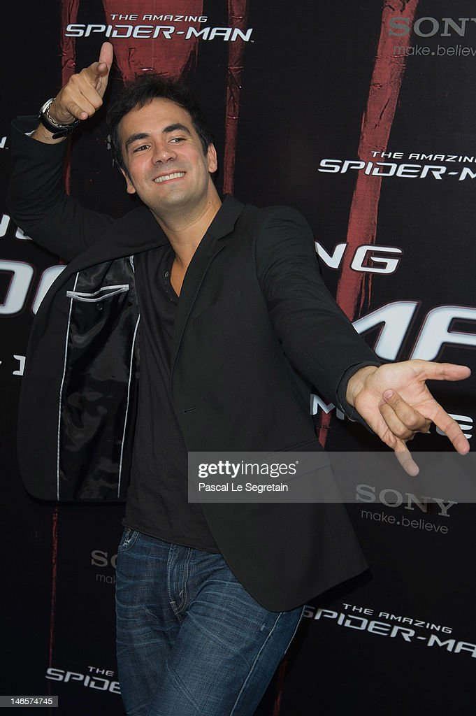 Alex Goude attends 'The Amazing Spider-Man' Paris Film premiere at Le Grand Rex on June 19, 2012 in Paris, France.