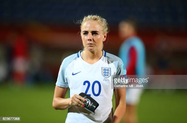 Alex Greenwood of England Women during the UEFA Women's Euro 2017 match between Portugal and England at Koning Willem II Stadium on July 27 2017 in...