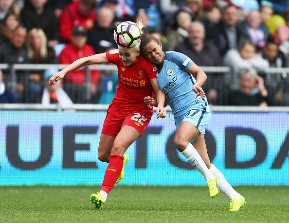 Manchester City Women v Liverpool Ladies: SSE Women's FA Cup Semi-Final : News Photo