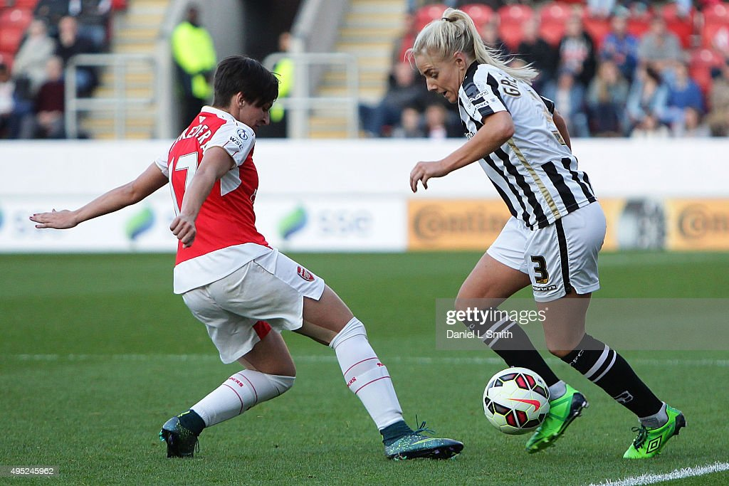 Arsenal Ladies FC v Notts County Ladies: WSL Continental Cup Final