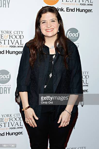 Alex Guarnaschelli attends Food Networks 20th birthday celebration at Pier 92 on October 17 2013 in New York City