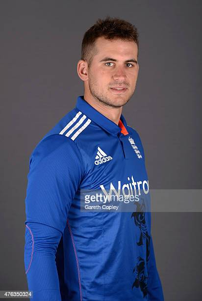 Alex Hales of England poses for a portrait at Edgbaston on June 8 2015 in Birmingham England