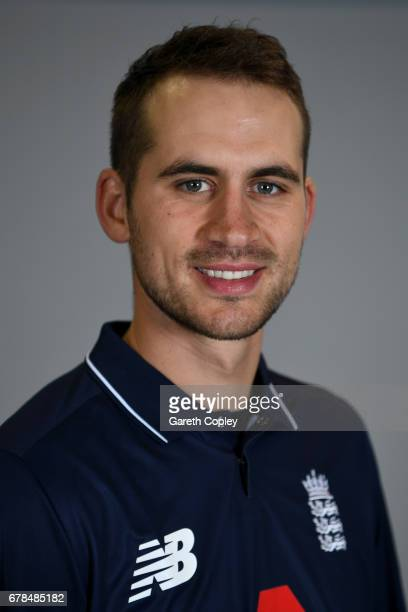 Alex Hales of England poses for a portrait at The Brightside Ground on May 4 2017 in Bristol England