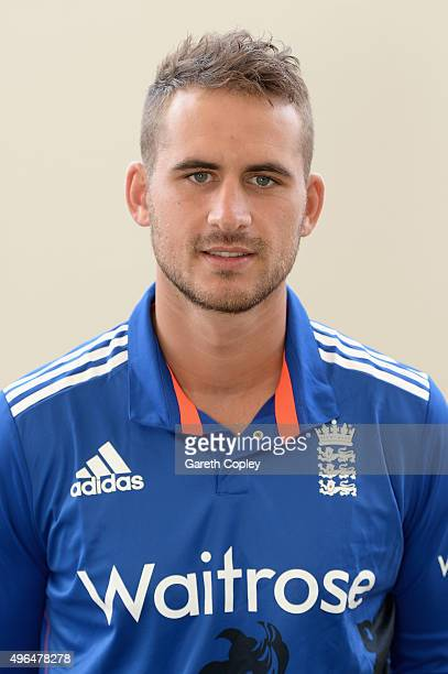 Alex Hales of England poses for a portrait at Zayed Cricket Stadium on November 10 2015 in Abu Dhabi United Arab Emirates