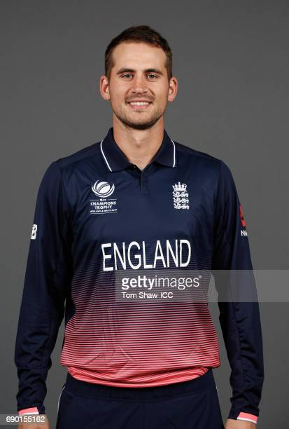 Alex Hales of England poses for a portrait during the England Portrait session for the ICC Champions Trophy at Grange City on May 30 2017 in London...
