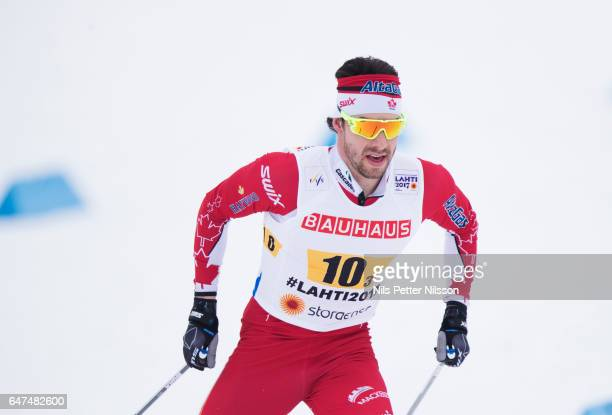 Alex Harvey of Canada during the men's cross country relay during the FIS Nordic World Ski Championships on March 3 2017 in Lahti Finland