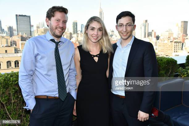 Alex Hoffman Jamie Picano and Jake Sussman attend The Junior Board of The TEAK Fellowship Presents A Midsummer Night at PhD Lounge at the Dream...