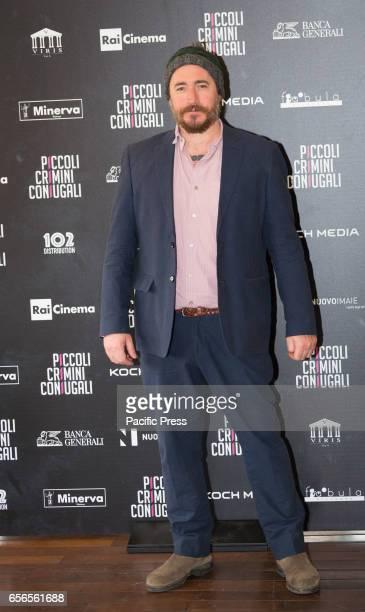 Alex Infascelli attends the Photocall of 'Piccoli Crimini Coniugali'
