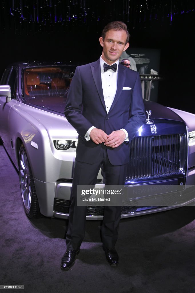Alex Innes, Rolls-Royce Motor Cars Bespoke Designer, attends the global debut of the new Rolls-Royce Phantom at Bonhams on July 27, 2017 in London, England.