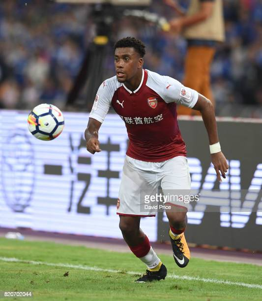 Alex Iwobi of Arsenal during the match between Arsenal and Chelsea at Birds Nest on July 22 2017 in Beijing China