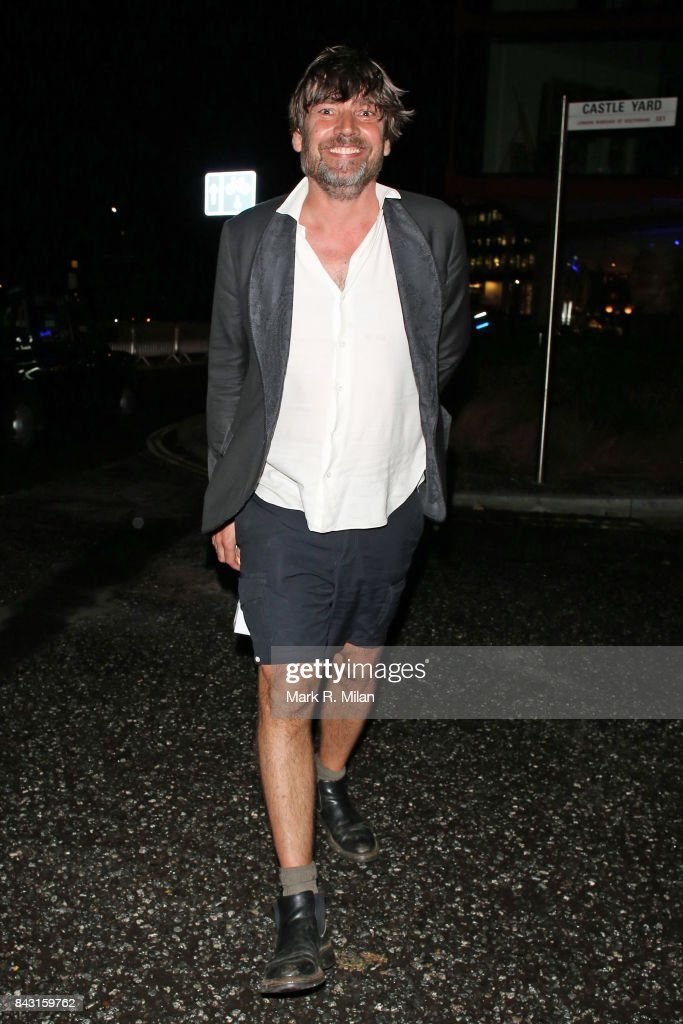 Alex James attending the GQ awards on September 5, 2017 in London, England.