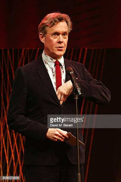 Alex Jennings speaks onstage at the London Evening Standard British Film Awards at Television Centre on February 7 2016 in London England