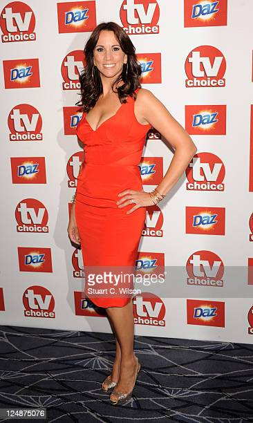 Alex Jones attends the TVChoice Awards at The Savoy Hotel on September 13 2011 in London England