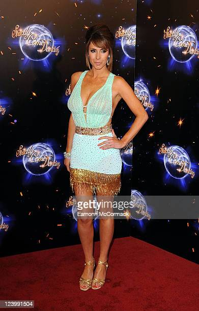 Alex Jones takes part in BBC One Strictly Come Dancing 2011 at BBC Television Centre on September 7 2011 in London England