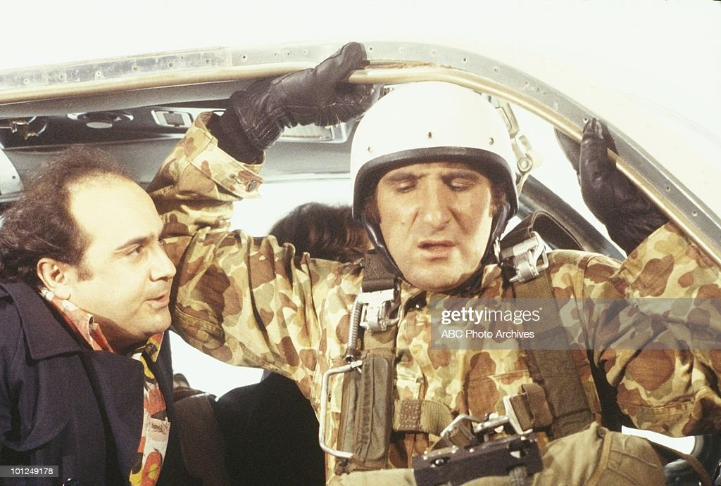 TAXI - 'Alex Jumps Out of an Airplane' - Airdate February 26, 1980. (Photo by ABC Photo Archives/ABC via Getty Images) DANNY