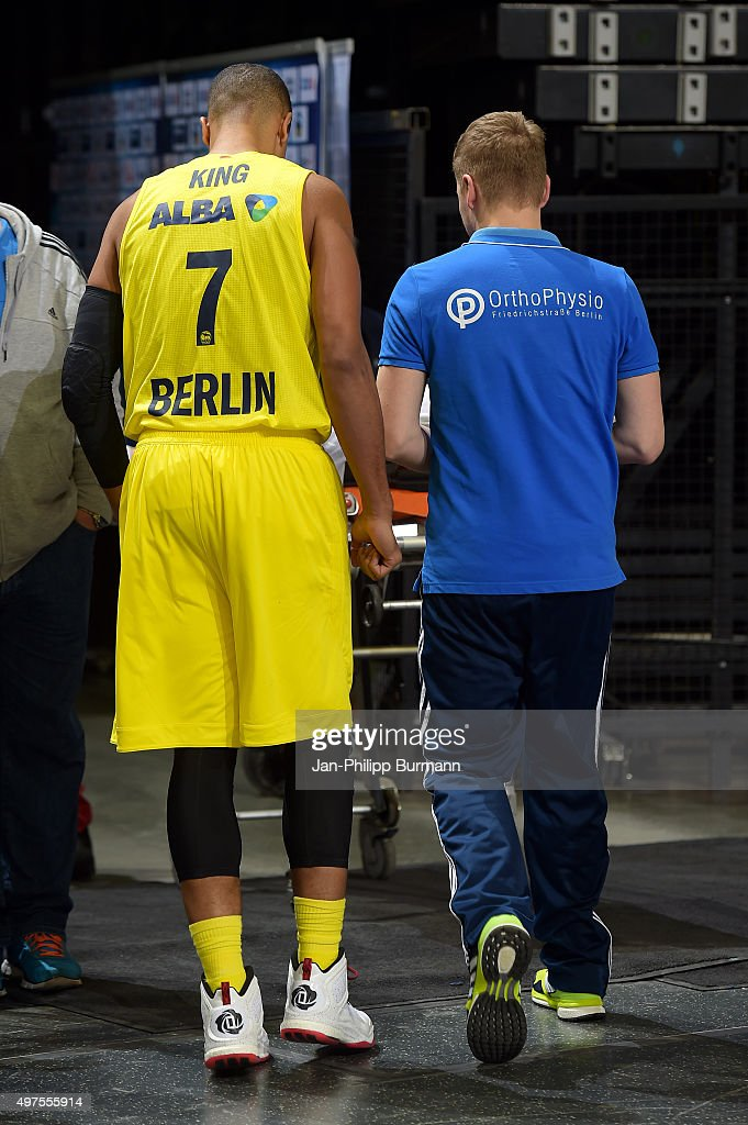 Alex King of ALBA Berlin during the game between Alba Berlin and MHP Riesen Ludwigsburg on november 17 2015 in Berlin Germany